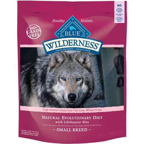 Blue Buffalo Small Breed Wilderness Chicken Adult Dry Dog Food, 4.5-Pound, My Pet Supplies
