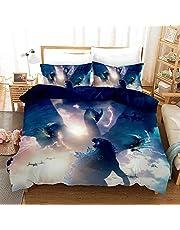 3D Godzilla vs Kong Children's Duvet Cover Godzilla Bedding Set Boy Girl Gift Bed Linen