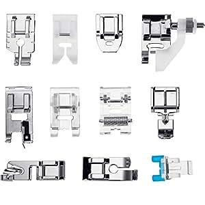 Faburo 11 Piezas Prensatelas Accesorios para Máquina de coser: Amazon.es: Hogar