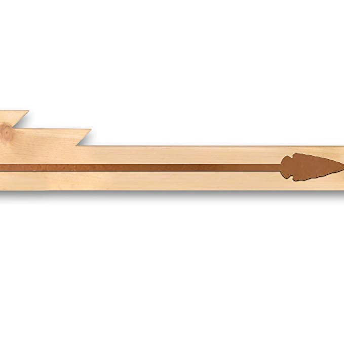 Amazon.com: Colgador de alfombra de madera rústica – arco de ...