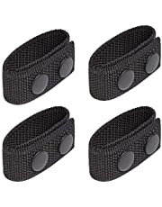 """Duty Belt Keeper with Double Snaps for 2¼"""" Wide Belt Security Tactical Belt Police Military Equipment Accessories (Set of 4)"""