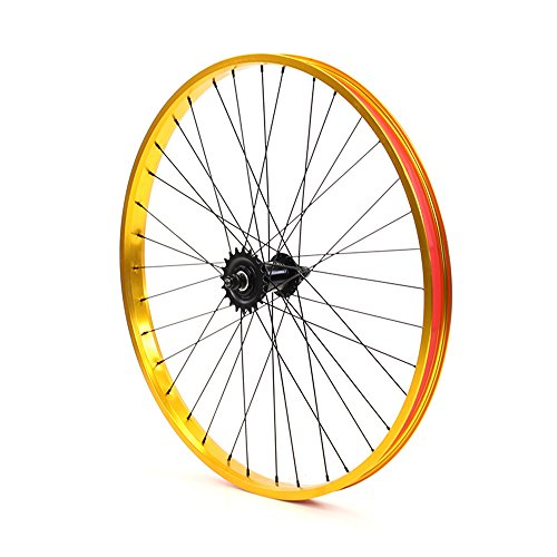 Set of Bicycle Rims (26x32mm; Front & Rear; Anodized Gold) by ZycleFix (Image #4)