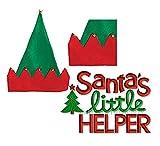 Santas Little Helper Christmas House Elf Hat with Bells - 16