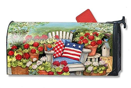 patriotic pillows mailbox cover 01291