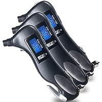 Medidor digital de pressão de pneu KKmoon, 5 em 1, 150 PSI 4 configurações para bicicleta de caminhão de carro com LCD…