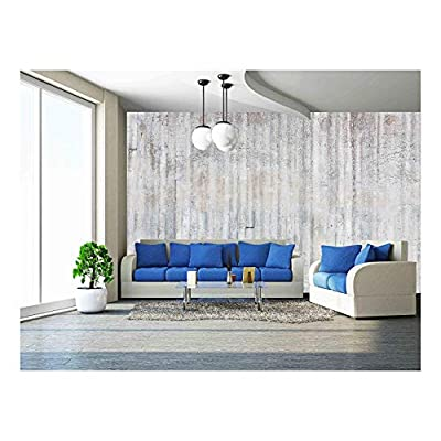 Weathered Concrete Wall Texture - Removable Wall Mural   Self-Adhesive Large Wallpaper - 66x96 inches