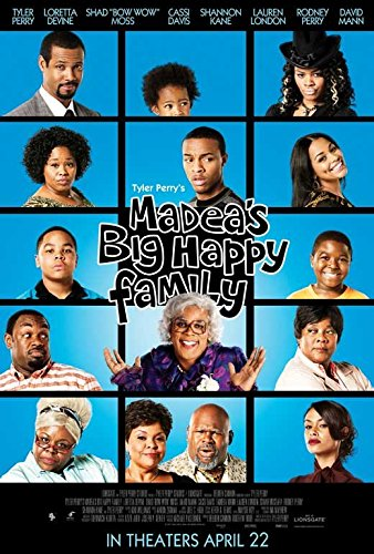Madea's Big Happy Family Poster Movie F 11 x 17 Inches - 28cm x 44cm Tyler Perry Bow Wow Lauren London Loretta Devine Shannon Kane Isaiah Mustafa David Mann