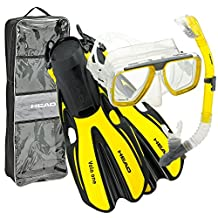 Head Tarpon/Barracuda Dry/Volo One Snorkel Set