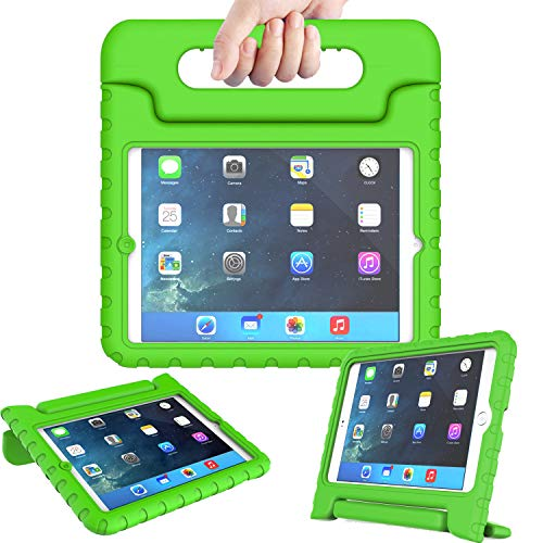 AVAWO Kids Case for iPad Mini 1 2 3 - Light Weight Shock Proof Handle Stand Kids for iPad Mini, iPad Mini 3rd Generation, iPad Mini 2 with Retina Display - Green