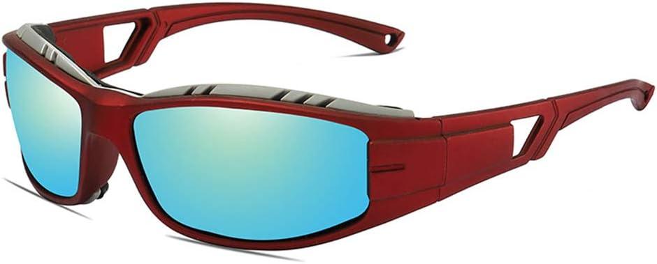 Gafas De Sol De La Motocicleta, con Protección UV Polarizados Deportes Gafas De Sol Máscaras Gafas TAC Hombres Mujeres Al Aire Libre Ciclismo Conducción Pesca,3