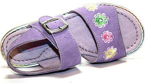Cherie enfant chaussures pour fille, sandales 786/lilas/mauve-uE - 25 (sans emballage)