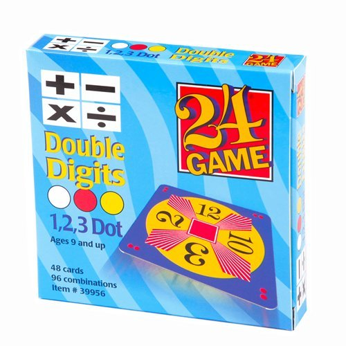 24 Games Combo Pack : 48 Card Deck Single Digit & 48 Card Deck Double Digit - Includes Exclusive Tips Sheet - Master Math Skills with this Dual Combo by Ergy (Image #2)