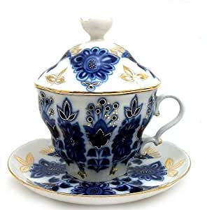Amazon Com Lomonosov Porcelain Tea Maker Quot Lily Of The