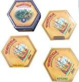 Tortuga Caribbean Rum Cake 4 Pack Assortment- Original, Keylime, Pineapple & Blue Mountain Coffee