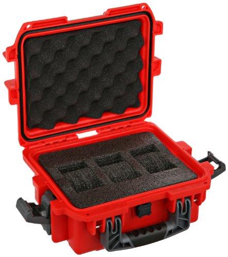 Invicta DC3RED 3 Slot Red Plastic Box Watch Case