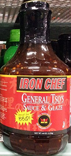 (Iron Chef General Tsos Sauce and Glaze, Great for Barbeque, 40 Oz)