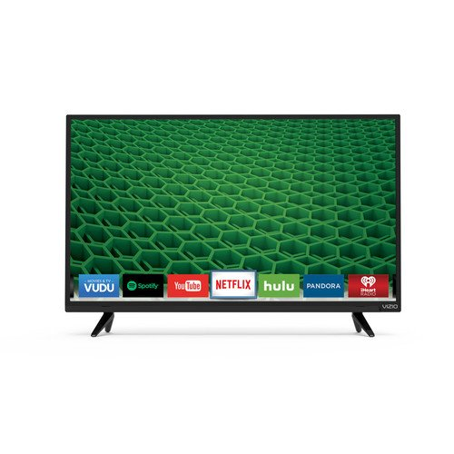 VIZIO D32-D1 D-Series 32″ Class Full Array LED Smart TV (Black)