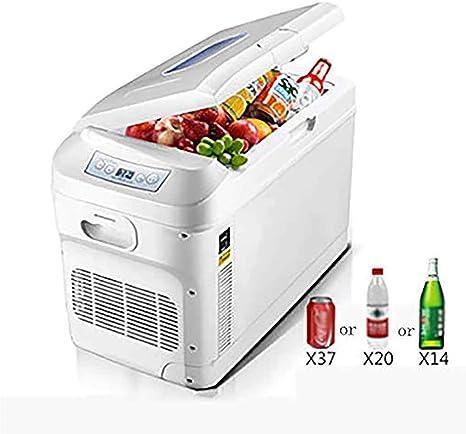 28 Liter Mini Autokühlschrank Dual Core Kühlung Kühlschrank Mit Gefrierfach Mindesttemperatureinstellung 18 65 12 V 24 V Küche Haushalt
