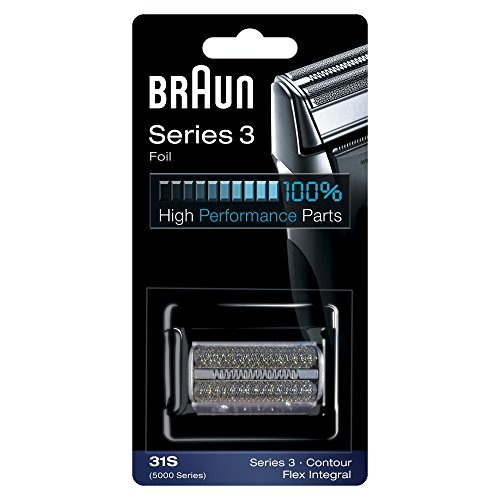 Braun 31S Replacement Foil and Cutter Cassette Multi Silver BLS Combi Pack - 5610 Replacement