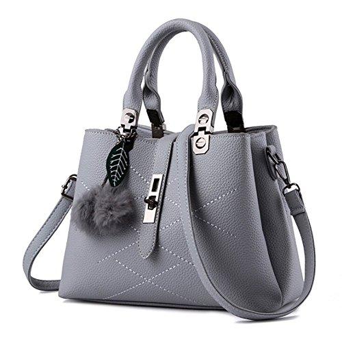 ANDAY - Bolso mochila  para mujer Negro negro talla única gris
