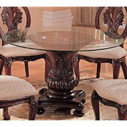 Tabitha Traditional Round Dining Table