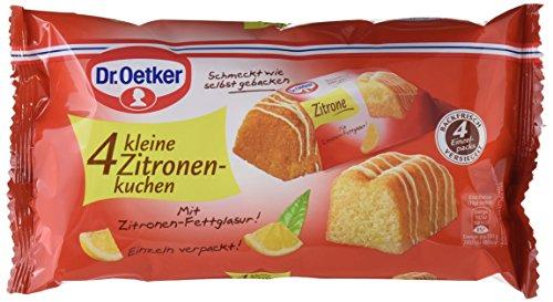 Dr Oetker Fertiger Kleiner Zitronenkuchen 5er Pack 5 X 140 G