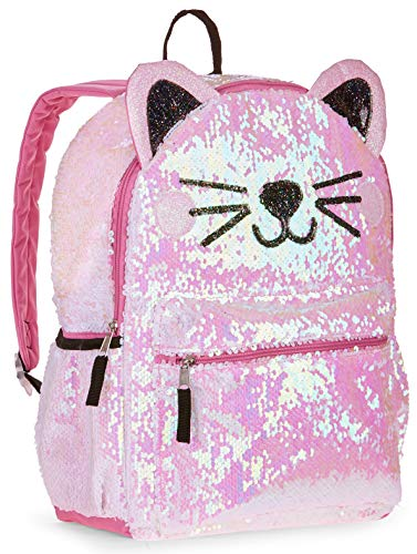 cc1f75b6afbc Jual Wonder Nation Kitty Cat 2 Way Sequin Critter Backpack - Kids ...