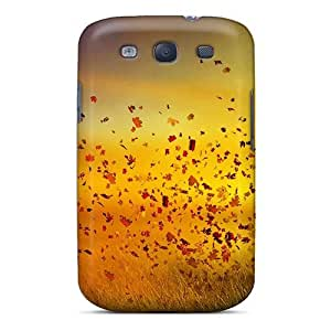 pc Mwaerke Shockproof Scratcheproof Photoshop Image Of Autumn Hard Case Cover For Galaxy S3