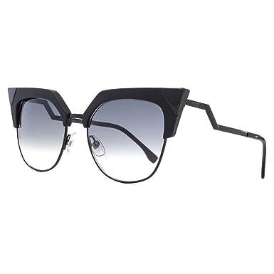 FENDI Fendi Damen Sonnenbrille » FF 0149/S«, schwarz, 807/9O - schwarz/grau