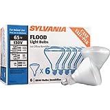 Sylvania 15679 BR40 130-Volt 65-Watt Reflector Flood Case Value Pack Incandescent Light