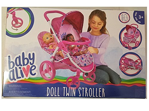 Baby Alive Twin Stroller - 3