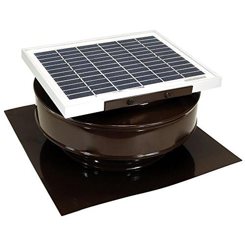 Price comparison product image 5-Watt Solar-Powered Exhaust Attic Fan