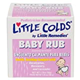 Little Remedies Little Colds Baby Rub Soothing