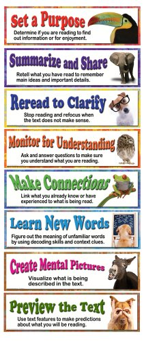 - Carson Dellosa Mark Twain Building Reading Comprehension Skills Bulletin Board Set (410064)