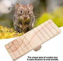 Sheens Juguete de Madera balancín para Mascotas pequeñas hámster ...