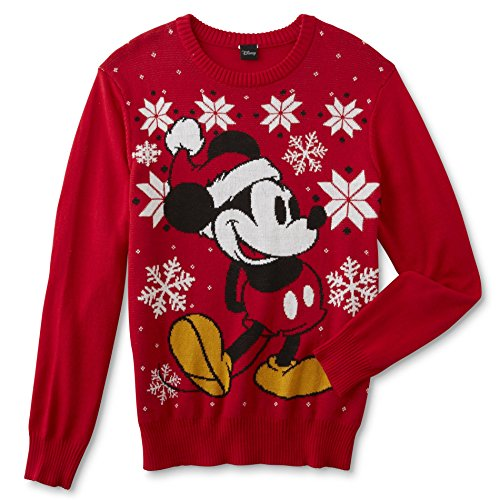 Disney Mens Mickey Mouse Sweater