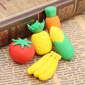 Frutas de plástico Mini jardín de bricolaje decoración ...