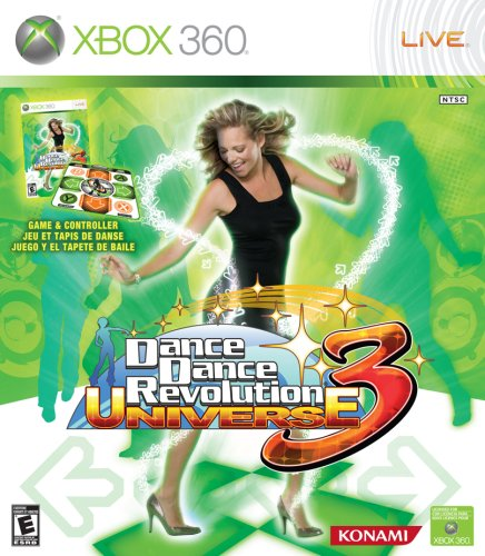 Amazon Com Dance Dance Revolution Universe 3 With Dance Mat Xbox