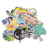 Sedeta® (Pack of 100) Stickers Skateboard Snowboard Vintage Vinyl Sticker Graffiti Laptop Luggage Car Bike Bicycle Decals Mix Lot Fashion Cool