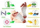 #3: NATURAL RECIPE - Premium PAIN & STRESS RELIEF Foot Patch | 12 Adhesive FOOT PAD pcs | FDA Certified