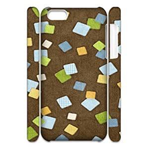MEIMEI ipod touch 5 Case 3D, Cartoon Fabric Stickers Case for ipod touch 5 white lmipod touch 5171567LINMM58281