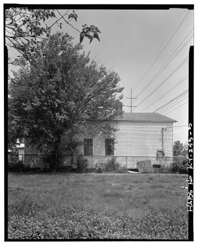 HistoricalFindings Photo: 1817-1819 Magazine Street Duplex,Louisville,Jefferson County,KY,Kentucky,HABS,2 (Best Of Louisville Magazine)