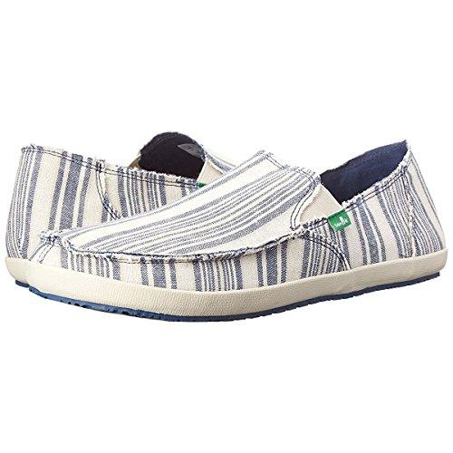 Sanuk Men's Rounder Hobo Funk Slip-On Loafer, Denim Natural