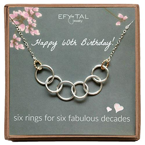 Efy Tal Jewelry Happy 60th Birthday Gifts for