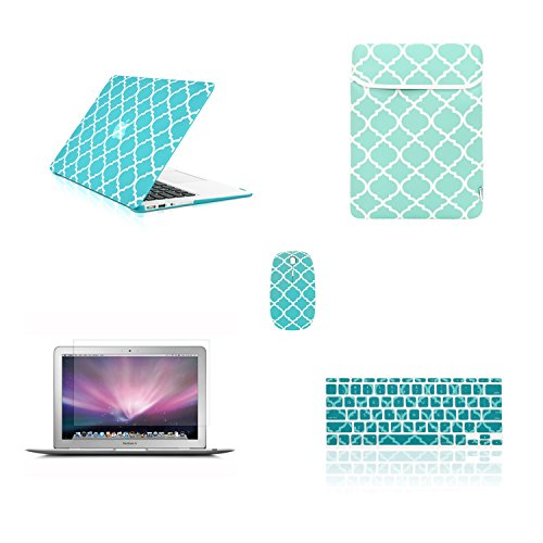 TOP CASE Bundle Quatrefoil Rubberized