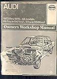 1973 1974 1975 1976 1977 1978 1979 Audi Fox Shop Repair Manual