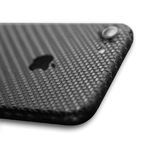 AppSkins Rückseite iPhone 7 Full Cover - Carbon black