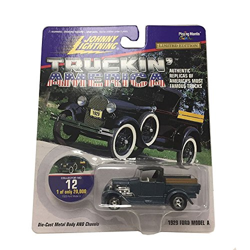 1929 Costumes (Johnny Lightning Truckin' Amarica 1929 Ford Model A #12 Collection 1:64 Diecast Metal Car Replica)
