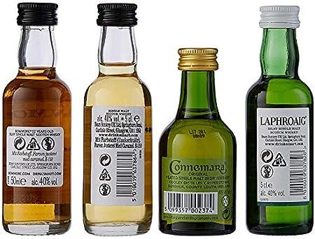 Peated Malts of Distinctions Mini-Pack Tasting Selektion Set 40% - 4x50 ml