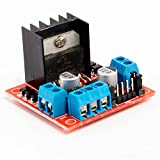 Neuftech L298n Dual H-Bridge DC Stepper Motor Controller dirve Module for Arduino Raspberry Pi